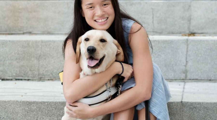 Sophie shares how her life has changed with her Guide Dog, Orinda
